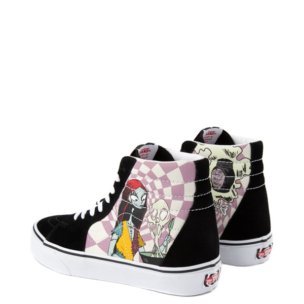 alternate image alternate view Vans x The Nightmare Before Christmas Sk8 Hi Sally's Potion Skate ShoeALT2