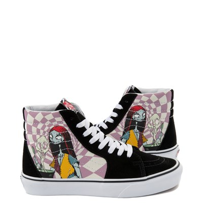 Main view of Vans x The Nightmare Before Christmas Sk8 Hi Sally's Potion Skate Shoe