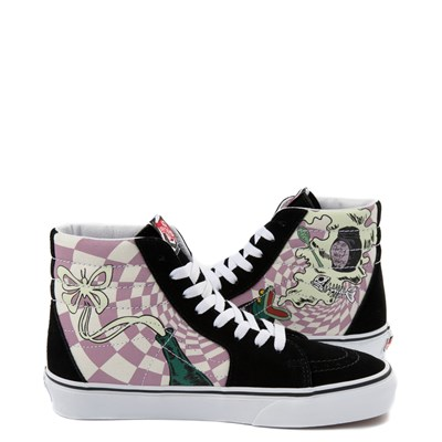 Alternate view of Vans x The Nightmare Before Christmas Sk8 Hi Sally's Potion Skate Shoe