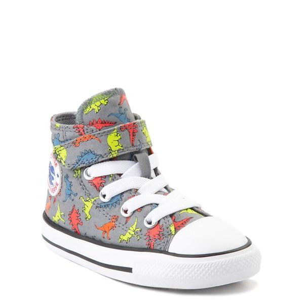 alternate image alternate view Converse Chuck Taylor All Star 1V Hi Dinoverse Sneaker - Baby / ToddlerALT1B