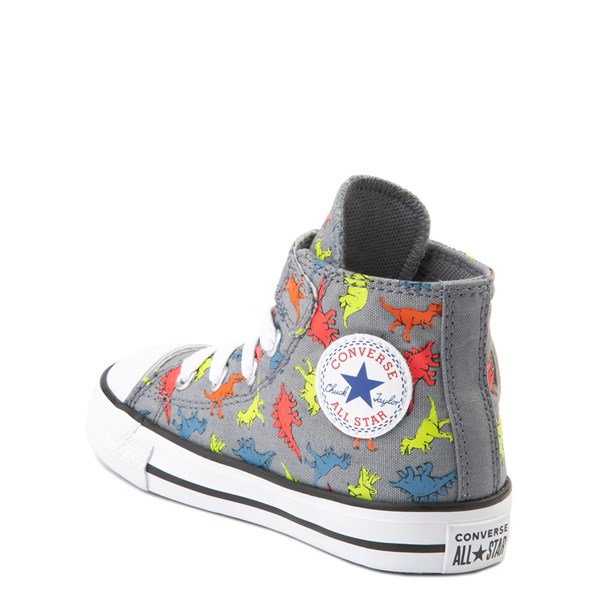 alternate image alternate view Converse Chuck Taylor All Star 1V Hi Dinoverse Sneaker - Baby / ToddlerALT2