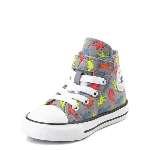 alternate image alternate view Converse Chuck Taylor All Star 1V Hi Dinoverse Sneaker - Baby / ToddlerALT3