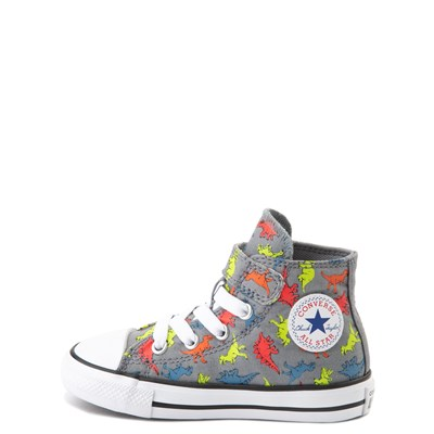 Alternate view of Converse Chuck Taylor All Star 1V Hi Dinoverse Sneaker - Baby / Toddler