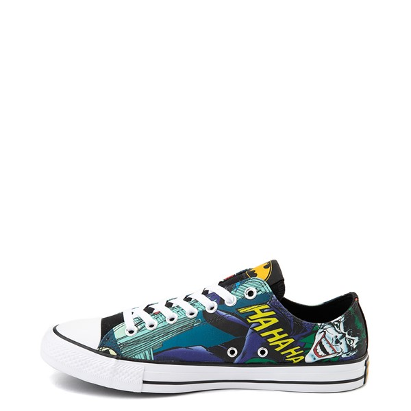 alternate image alternate view Converse Chuck Taylor All Star Lo DC Comics Batman SneakerALT1