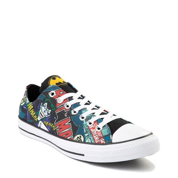 alternate image alternate view Converse Chuck Taylor All Star Lo DC Comics Batman SneakerALT1B