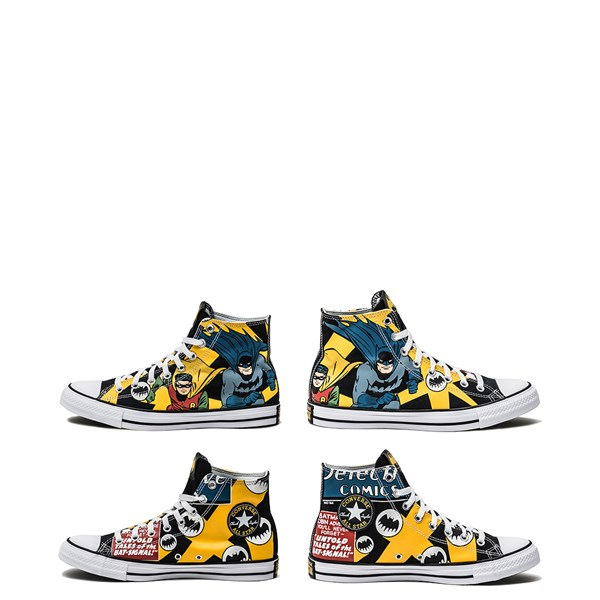alternate image alternate view Converse Chuck Taylor All Star Hi DC Comics Batman SneakerALT1