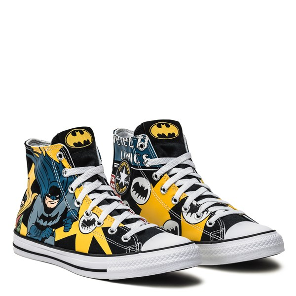 alternate image alternate view Converse Chuck Taylor All Star Hi DC Comics Batman SneakerALT1B