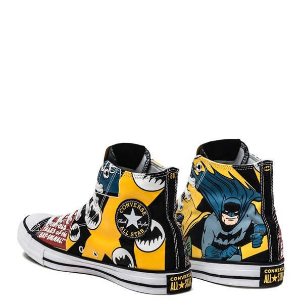 alternate image alternate view Converse Chuck Taylor All Star Hi DC Comics Batman SneakerALT2