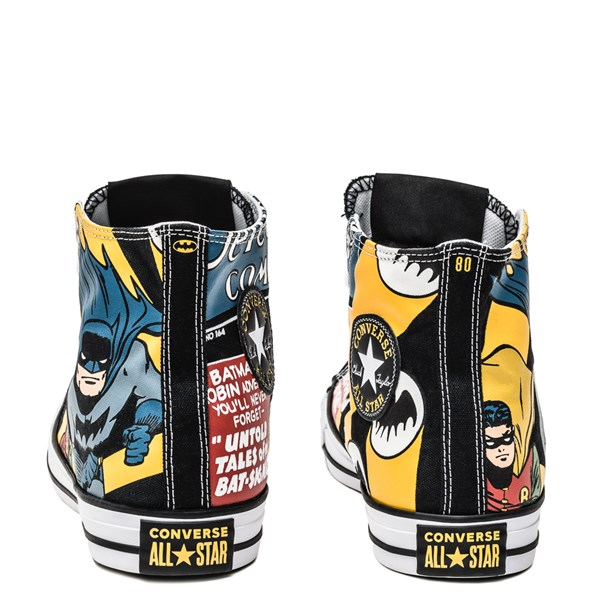 alternate image alternate view Converse Chuck Taylor All Star Hi DC Comics Batman SneakerALT2B
