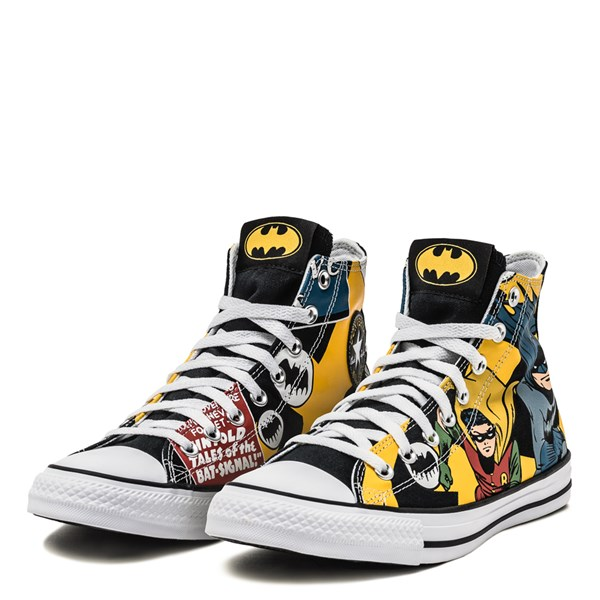 alternate image alternate view Converse Chuck Taylor All Star Hi DC Comics Batman SneakerALT3