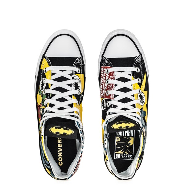 alternate image alternate view Converse Chuck Taylor All Star Hi DC Comics Batman SneakerALT4B