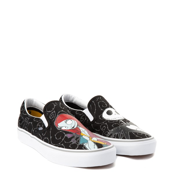 alternate image alternate view Vans x The Nightmare Before Christmas Slip On Jack & Sally Skate ShoeALT1B