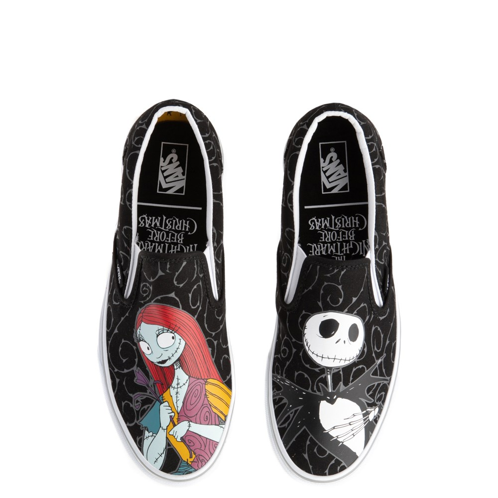 Vans x The Nightmare Before Christmas Slip On Jack & Sally Skate Shoe