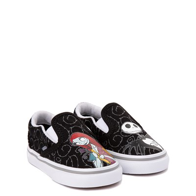 Alternate view of Vans x The Nightmare Before Christmas Slip On Jack & Sally Skate Shoe - Baby / Toddler