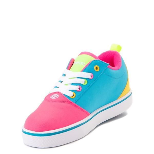 alternate image alternate view Heelys Gr8 Pro Color-Block Skate Shoe - LIttle Kid / Big Kid - Neon Blue / Pink / YellowALT2