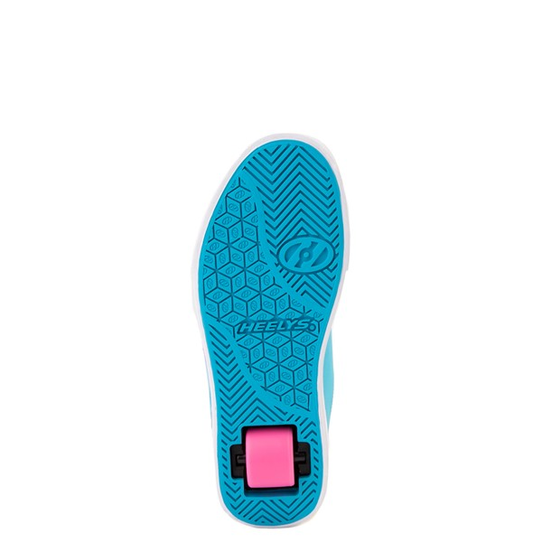 alternate image alternate view Heelys Gr8 Pro Color-Block Skate Shoe - LIttle Kid / Big Kid - Neon Blue / Pink / YellowALT3