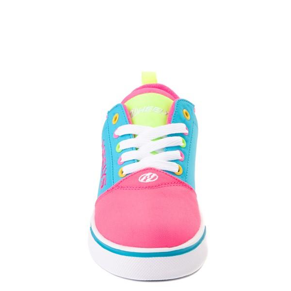 alternate image alternate view Heelys Gr8 Pro Color-Block Skate Shoe - LIttle Kid / Big Kid - Neon Blue / Pink / YellowALT4