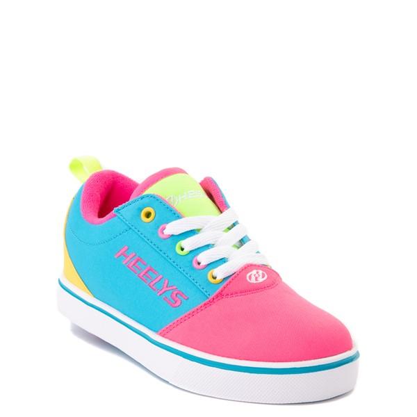 alternate image alternate view Heelys Gr8 Pro Color-Block Skate Shoe - LIttle Kid / Big Kid - Neon Blue / Pink / YellowALT5