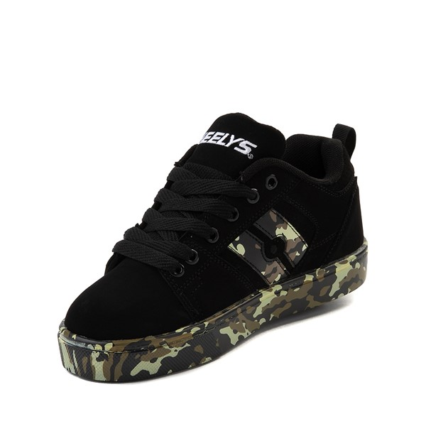 alternate image alternate view Heelys Racer Skate Shoe - Little Kid / Big Kid - Black / CamoALT2