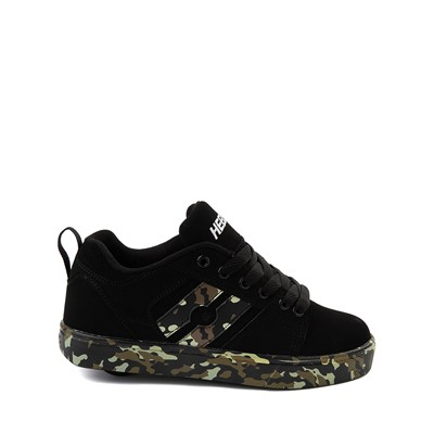 Main view of Heelys Racer Skate Shoe - Little Kid / Big Kid - Black / Camo