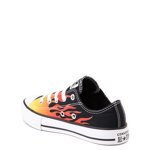 alternate image alternate view Converse Chuck Taylor All Star Lo Flames Sneaker - Little KidALT1