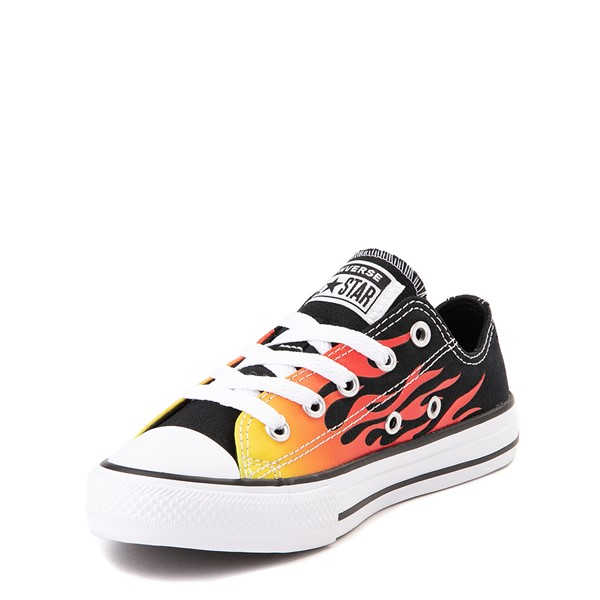 alternate image alternate view Converse Chuck Taylor All Star Lo Flames Sneaker - Little KidALT2