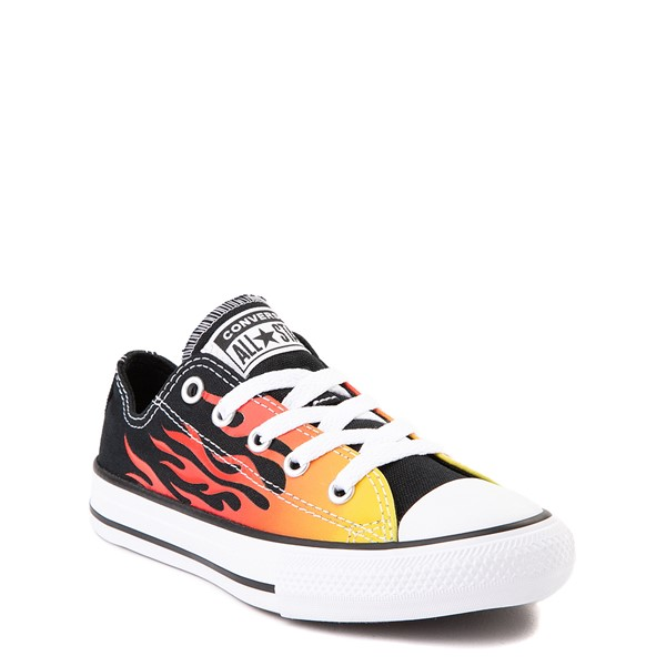 alternate image alternate view Converse Chuck Taylor All Star Lo Flames Sneaker - Little KidALT5