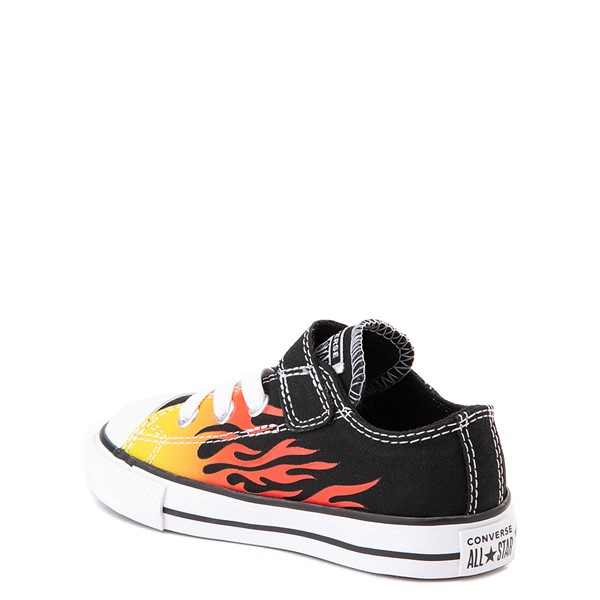 alternate image alternate view Converse Chuck Taylor All Star 1V Lo Flames Sneaker - Baby / ToddlerALT1