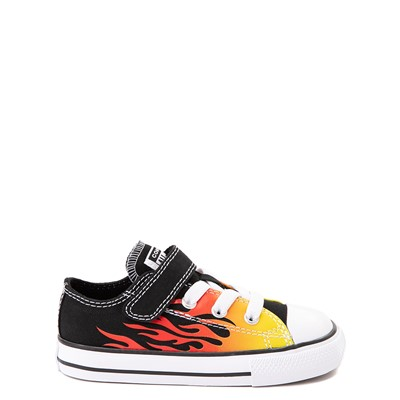 Main view of Converse Chuck Taylor All Star 1V Lo Flames Sneaker - Baby / Toddler