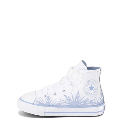 Alternate view of Converse x Frozen 2 Chuck Taylor All Star 1V Hi Elsa Sneaker - Baby / Toddler