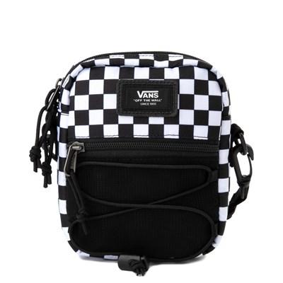 Main view of Vans Bail Checkerboard Shoulder Bag - Black / White