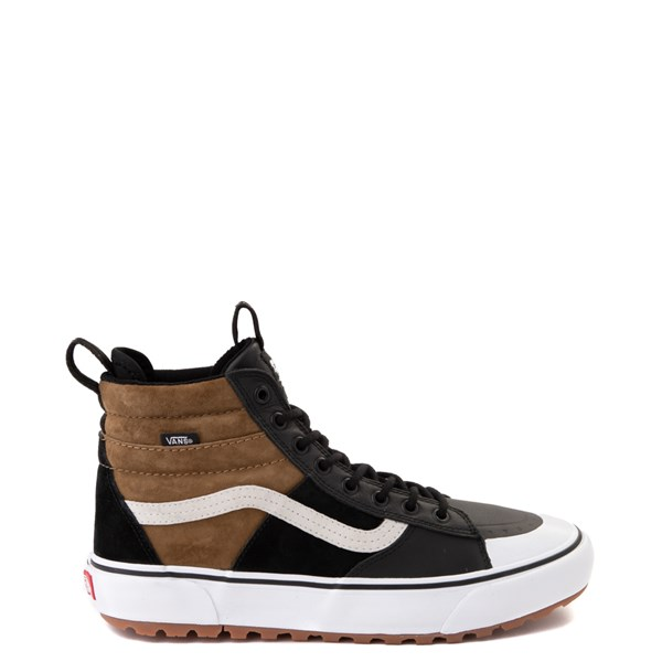 Vans Sk8 Hi MTE 2.0 DX Skate Shoe - Black / Brown / True White