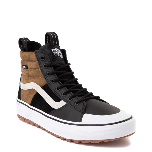 alternate image alternate view Vans Sk8 Hi MTE 2.0 DX Skate Shoe - Black / Brown / True WhiteALT1