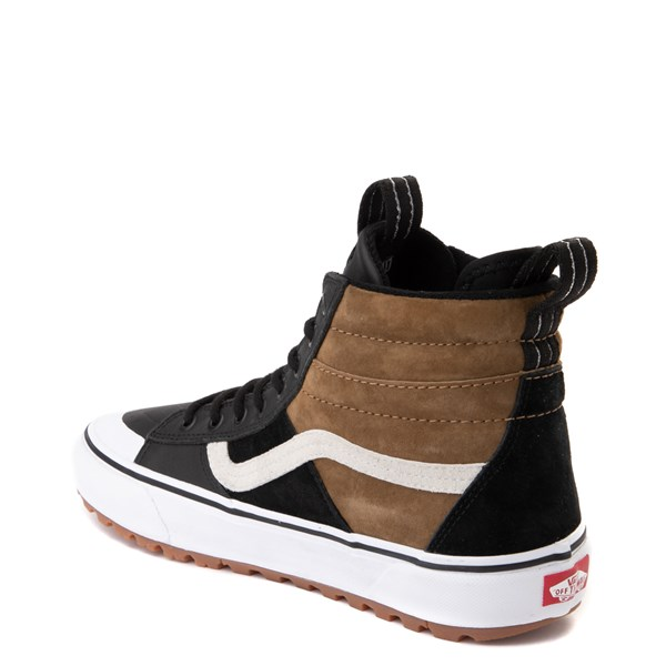 alternate image alternate view Vans Sk8 Hi MTE 2.0 DX Skate Shoe - Black / Brown / True WhiteALT2