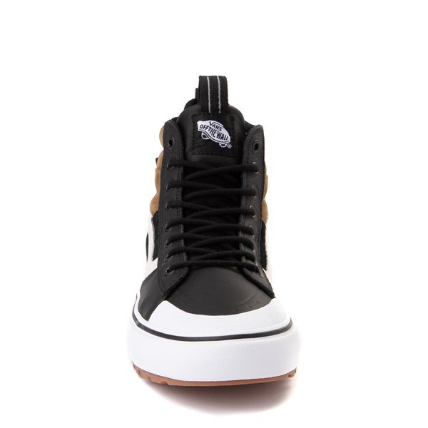 alternate image alternate view Vans Sk8 Hi MTE 2.0 DX Skate Shoe - Black / Brown / True WhiteALT4
