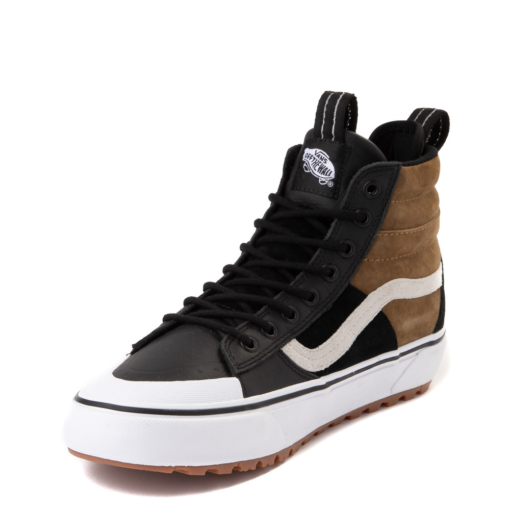 vans sk8 hi mte 2 0 dx skate shoe black brown true white journeyscanada vans sk8 hi mte 2 0 dx skate shoe black brown true white