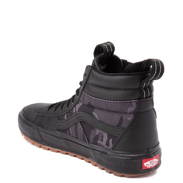 alternate image alternate view Vans Sk8 Hi MTE 2.0 DX Skate Shoe - Black / Woodland CamoALT2