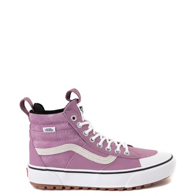 Main view of Vans Sk8 Hi MTE 2.0 DX Skate Shoe - Valerian Purple / True White