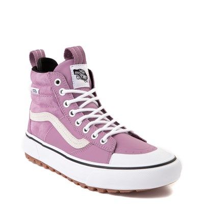 Alternate view of Vans Sk8 Hi MTE 2.0 DX Skate Shoe - Valerian Purple / True White