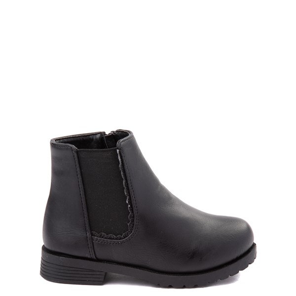 Kensie Girl Kelsey Chelsea Boot - Toddler - Black