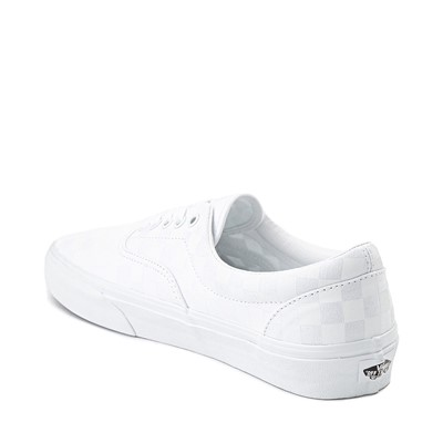 Alternate view of Vans Era Tonal Checkerboard Skate Shoe - True White