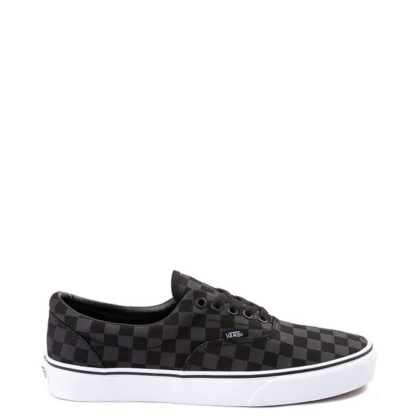 Vans Era Tonal Checkerboard Skate Shoe - Black