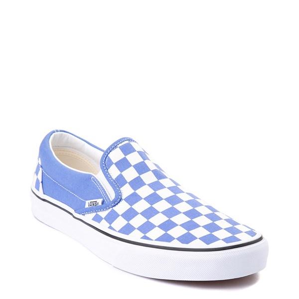 alternate image alternate view Vans Slip On Checkerboard Skate Shoe - Ultramarine BlueALT1