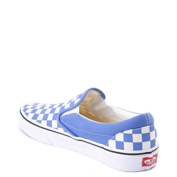 alternate image alternate view Vans Slip On Checkerboard Skate Shoe - Ultramarine BlueALT2