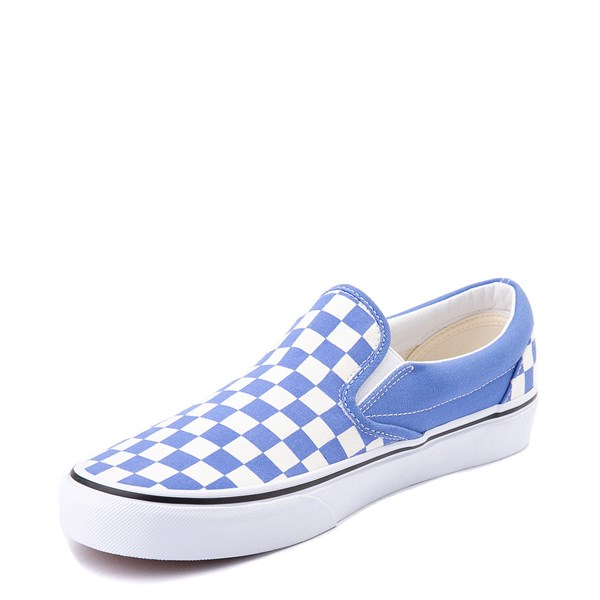 alternate image alternate view Vans Slip On Checkerboard Skate Shoe - Ultramarine BlueALT3