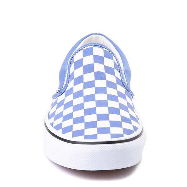 alternate image alternate view Vans Slip On Checkerboard Skate Shoe - Ultramarine BlueALT4