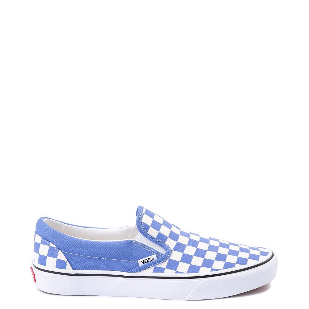 Vans Slip On Checkerboard Skate Shoe - Ultramarine Blue
