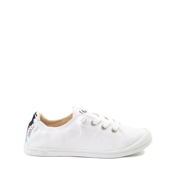 Main view of Womens Roxy Bayshore Casual Shoe - White / Multi