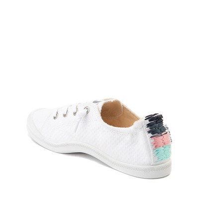Alternate view of Womens Roxy Bayshore Casual Shoe - White / Multi