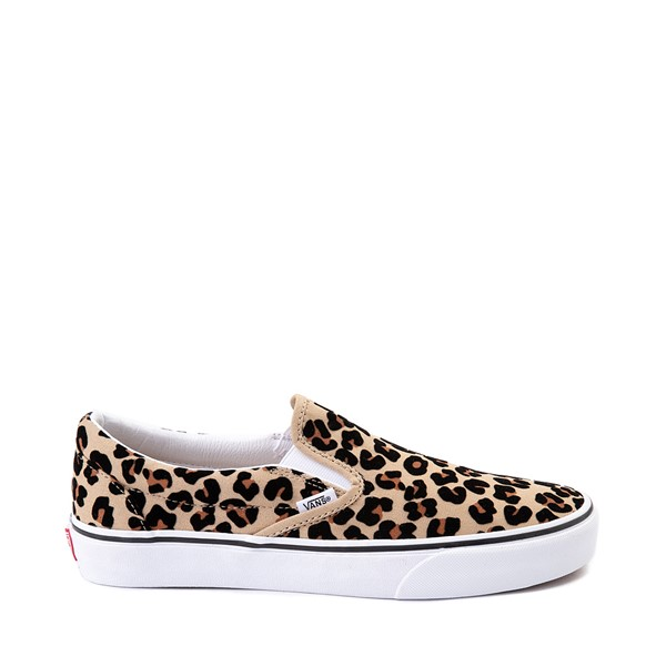 Main view of Vans Slip On Skate Shoe - Leopard
